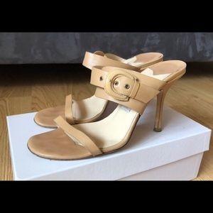 Jimmy Choo Tan Sandals Size 38 (8)